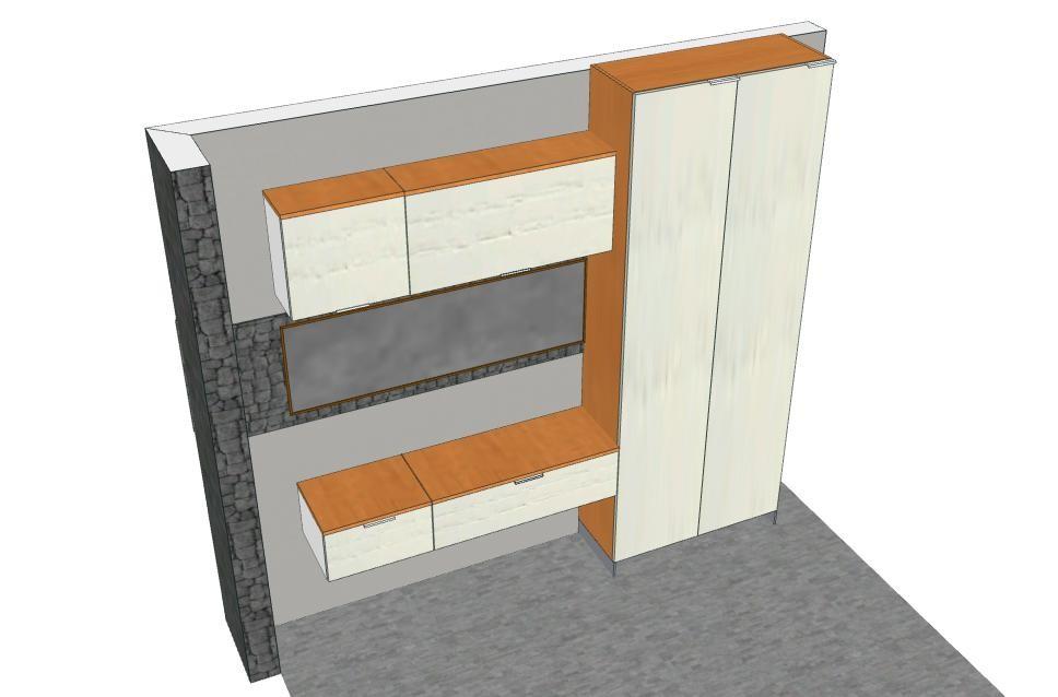 Ingresso eleonora progetti personalizzati su misura for Guardaroba ingresso